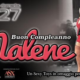 26 – 27 Agosto Buon compleanno Malene