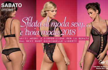 28/10 – Sfilata di moda sexy