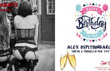 11/11 Buon Compleanno Alex OspitoinBarca