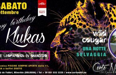 Wild cougar: lingerie leopardate & Happy birthday Klukas
