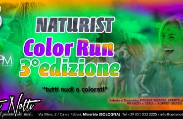 Naturist Color Run: 3 edition