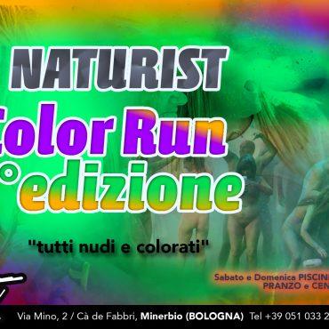Naturist Color Run: 3 edition