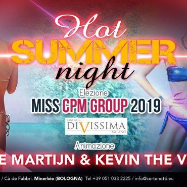 Miss CPM group 2019: hot summer night