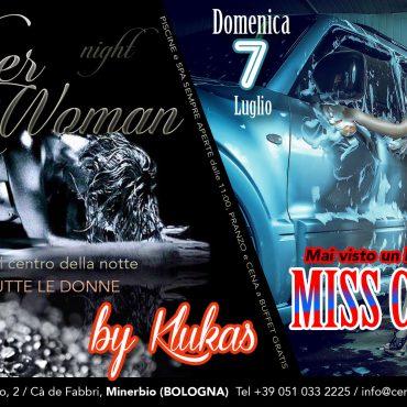 Sab 6: Silver Woman – Dom 7: Miss car wash
