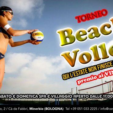 Torneo di beach volley: l'estate non finisce