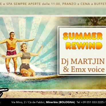 Summer Rewind: dj Martjin & Emx voice