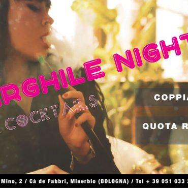 Narghilè night: musica e cocktails