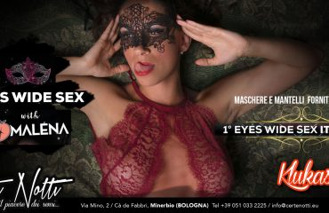1° EYES WIDE SEX ITALIANO con MALENA by KLUKAS
