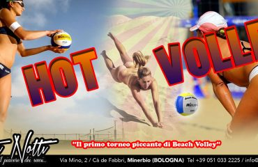 Hot volley: il primo torneo piccante di beach volley
