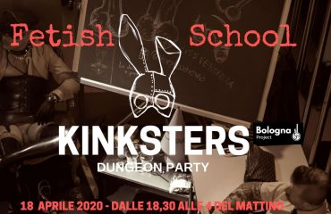 KINKERSTER Dugeon Party: Fetish School