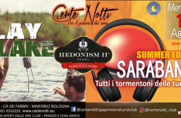 Play lake & sarabanda summer edition