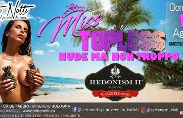 Miss Topless: nude ma non troppo