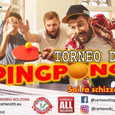 Torneo di pingpong: sai far schizzare la pallina?