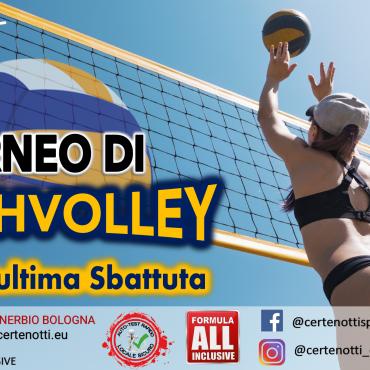 Torneo di beach volley: fino all'ultima sbattuta