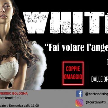White party dress code: fai volare l'angelo che è in te – coppie omaggio