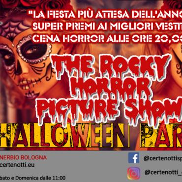 Halloween party: the rocky horror picture show: super premi ai migliori vestiti e cena horror