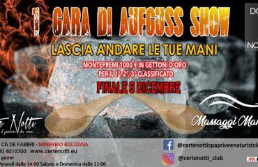 Prima gara di Aufguss show – montepremi 1000€