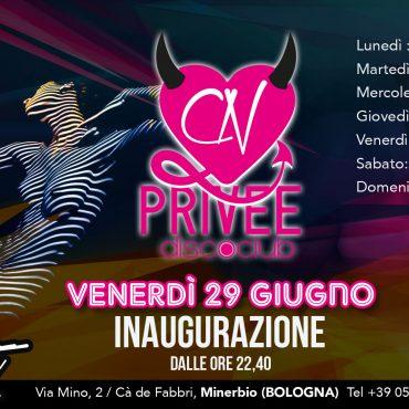 CN PRIVEE – inaugurazione