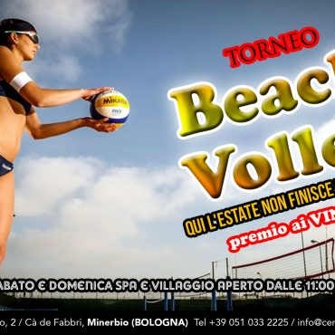 Torneo di beach volley: l'estate non finisce