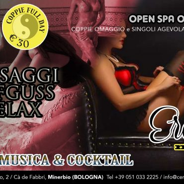 Erotic night: massaggi aufguss relax