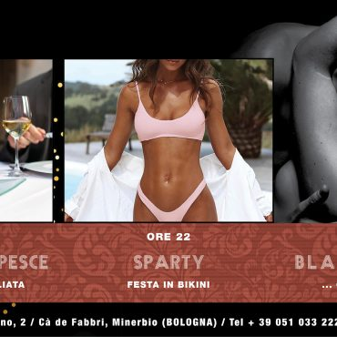 Cena a base di pesce – Sparty – Blackout privè