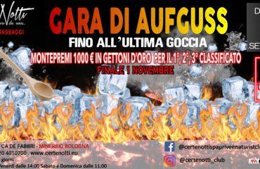 Gara di aufguss: fino all'ultima goccia – Montepremi 1000 €