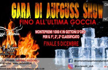 Gara di aufguss show: fino all'ultima goccia – Montepremi 1000€