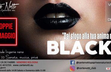 Black party: dai sfogo alla tua anima nera – dress code e coppie omaggio